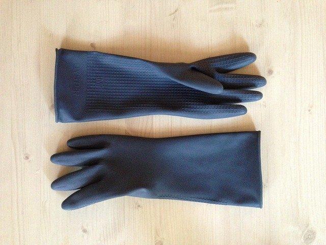 rękawiczki foliowe zrywki